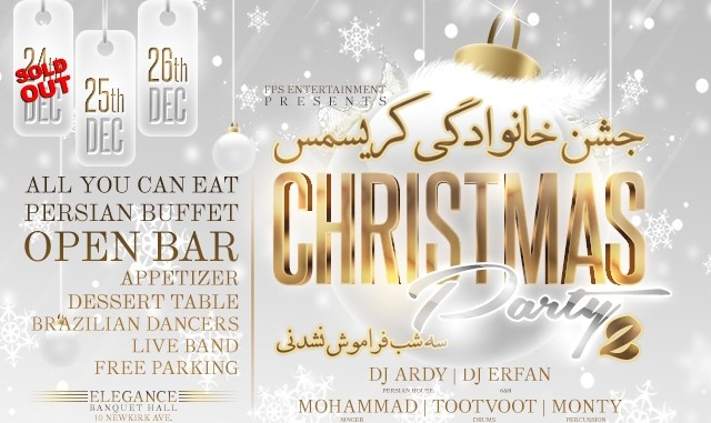 Persian Christmas Party 2015