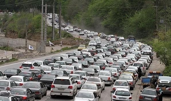 دیزین شمشک همچنان مسدود: ترافیک نیمه سنگین در ورودی شهر تهران