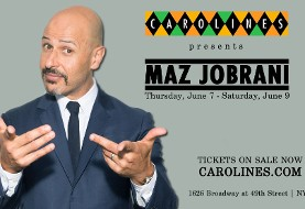 Maz Jobrani Live in New York at Carolines on Broadway