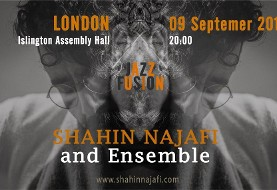 Shahin Najafi and Ensemble Live in London