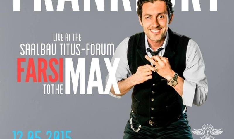 Max Amini Persian Comedy in Frankfurt