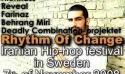 Rythem of Change Iranian Hip-hop Festival in Sweden