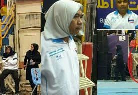 Thai Male Coach Wears Headscarf to Sneak Into Women's Match in Iran