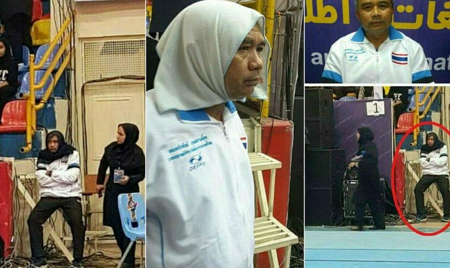 Thai Male Coach Wears Headscarf to Sneak Into Women's Match in ...