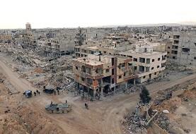 کشته و زخمی شدن ۳۴ عضو حشد الشعبی در جریان حمله موشکی هواپیماهای آمریکا به مرز سوریه