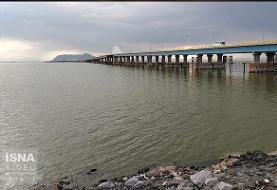 بارانهای سیل آسا ارومیه را زنده کرد : طراز آب دریاچه ارومیه بیش از یک متر بالا آمد