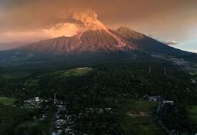 تصاویر فوران آتشفشان گواتمالا برای پنجمین بار در یک سال: بیش از ۴ هزار نفر خانه های خود را ترک کردند