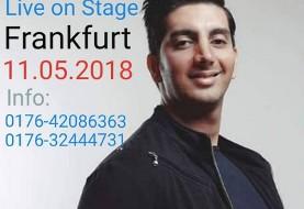 کنسرت فرزاد فرزین در فرانکفورت