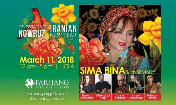 Farhang's 10th Nowruz with Sima Bina & Ensemble
