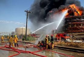 آتش سوزی در واحد وینیل کلراید منومر (سرطان زا) پتروشیمی بندر امام مهار شد، علت حادثه هنوز روشن نیست