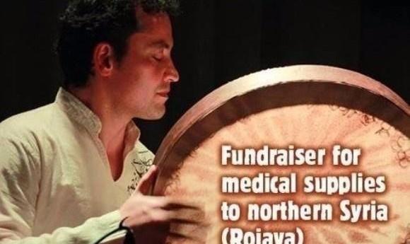 Peyman Heydarian and Elaha Soroor: Fundraiser for northern Syria (Rojava)