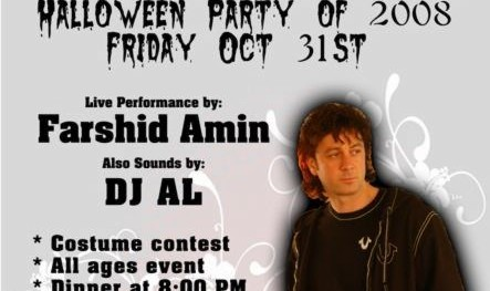 Farshid Amin and DJ AL Live on Stage  at Alborz Restaurant