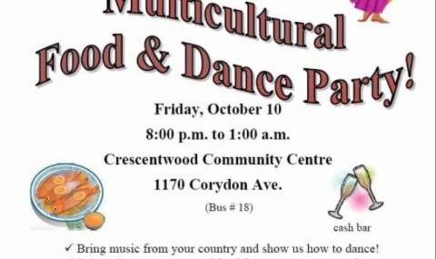 مهمانی بین المللی، غذا و رقص!