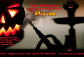 Halloween Party at Divan