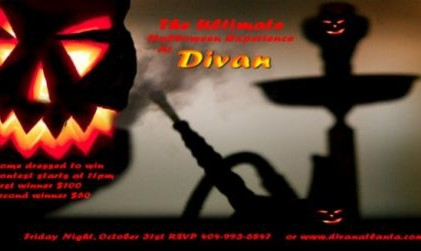 Halloween Party at Divan