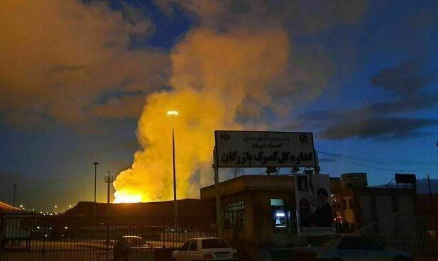 (ویدئو) انفجار خط لوله گاز صادراتی ایران به ترکیه باعث توقف صادرات گاز ایران به ترکیه شد