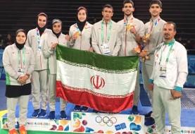 شاهکار جوانان تکواندوکار ایران در المپیک جوانان با ۳ طلا و ۱ نقره