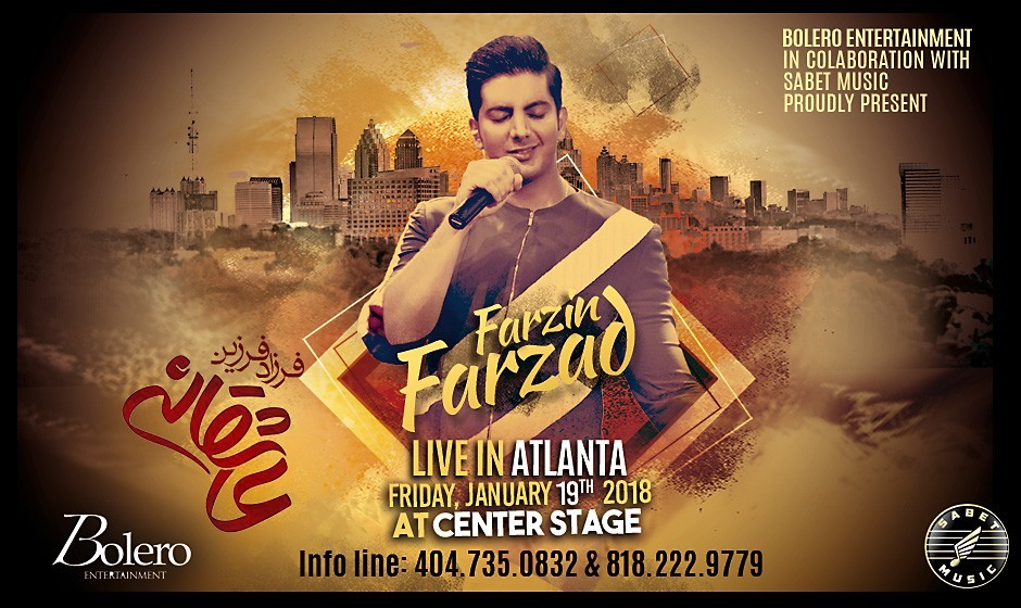Farzad Farzin Live In Atlanta: Asheghaneh US Tour