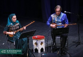Mixed men women ensembles perform in Fajr music festival