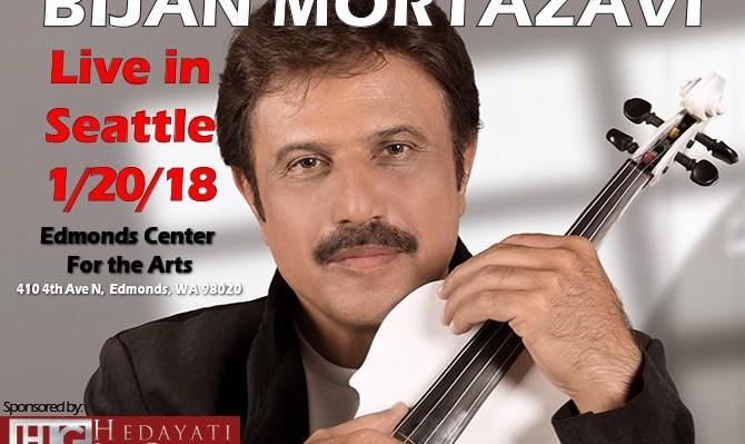 Bijan Mortazavi Live in Seattle