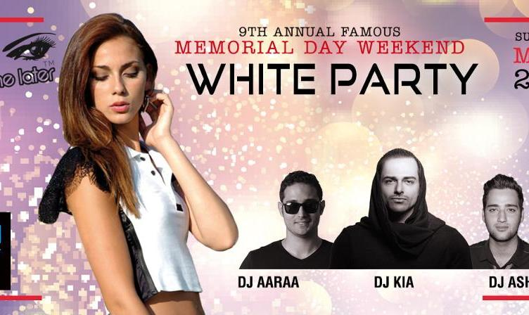 Annual Famous Persian Memorial Day Weekend White Party