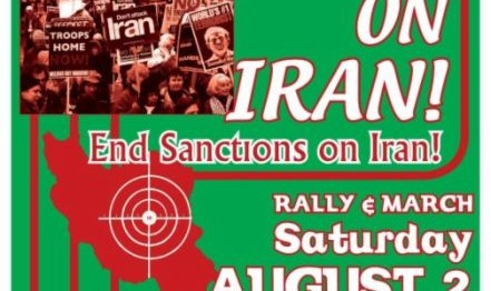 No War on Iran! End Sanctions on Iran!
