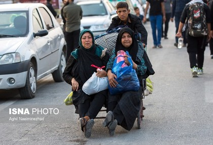 تصادف اتوبوس زائران ایرانی در عراق: ١٣ مصدوم