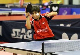 Iran's 12 Year Old Table Tennis Prodigy Shines Among Asia's Cadet Boys