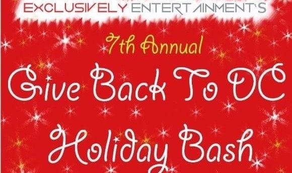 Support Vafa Animal Shelter: Exclusively Entertainment's 7th Annual Give Back To DC Holiday Bash