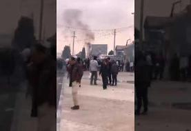 ماجرای ورود هلیکوپتر به شهر صدرا: میخواستند حوزه بسیج را خلع سلاح کنند! بسیار کارکشته بودند دفتر امام جمعه را آتش زدند!