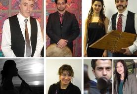 Peyman Heydarian & Mansour Izadpanah in Festival of Kurdish Music