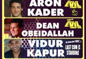 The Randomly Selected Comedy Tour with Iranian, Arab and Indian-American comedians!