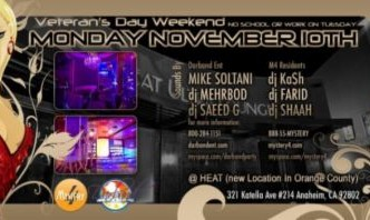 Persian Party at Heat Ultra Lounge‎