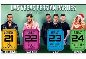 LAS VEGAS Persian Christmas Parties with Sami Beigi, TM Bax and Others