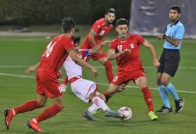شکست تیم فوتبال امید مقابل تاجیکستان در تورنمنت چهارجانبه قطر