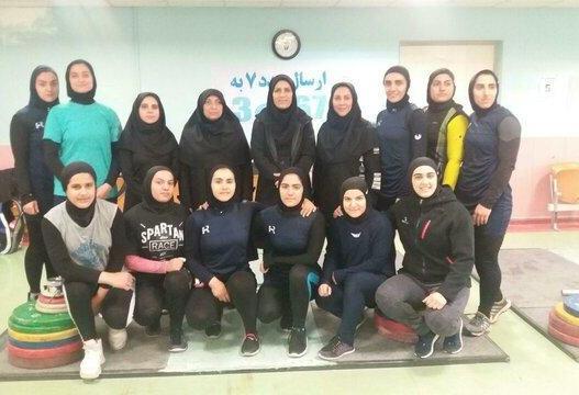 دوازدهمی آسیا حاصل نخستین حضور بانوی وزنهبردار ایران!