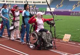 پافشاری خانم پرچمدار ایران در المپیک و موفقیت برای خروج از کشور علیرغم دستور ممنوعیت شوهر