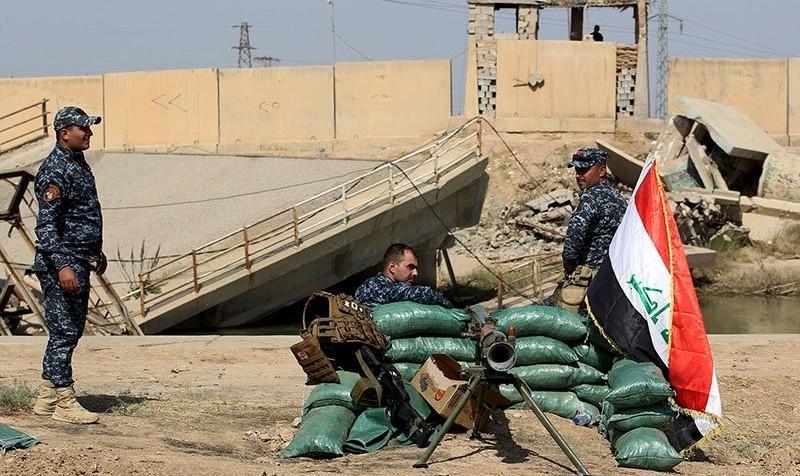 رویارویی ارتش عراق و حشد الشعبی با پیشمرگه ها در پایگاه هوایی و میدان نفتی جنوب کرکوک
