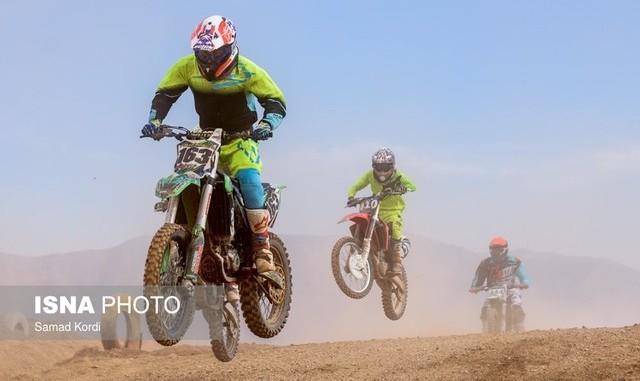 مسابقات موتورکراس قهرمانی آسیا با حضور ۴ ایرانی