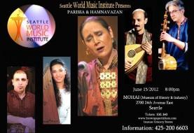 The Hamnavazan Ensemble and Parissa Concert in Seattle