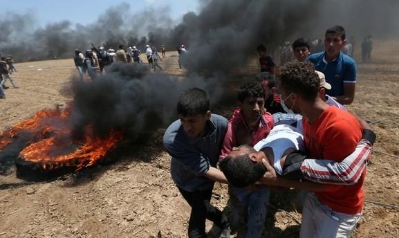 ترکیه در اعتراض به کشته و زخمی شدن نزدیک ۳۰۰۰  فلسطینی، سفرای خود را از واشنگتن و تلآویو فراخواند