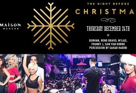 Night Before Christmas at Maison