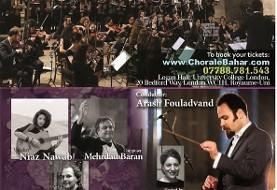 کنسرت صدای صلح: بزرگترین گروه کر ایرانیان دراروپا به رهبری آرش فولادوند