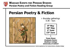 Persian Poetry and Fiction Reading Group