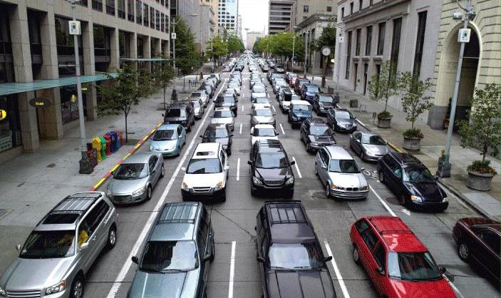 Global Warming and The Selfish Humans: 200 People in 177 Cars!