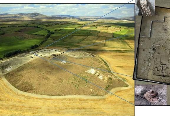 کشف قصر و نیایشگاه ۲۵۰۰ ساله هخامنشی توسط باستان شناسان در شمال ترکیه