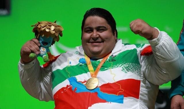 قهرمانی سیامند رحمان در رقابتهای وزنه برداری معلولان قهرمانی آسیا و اقیانوسیه