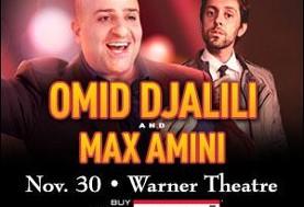 Omid Djalili w/ Special Guest Max Amini LIVE!!