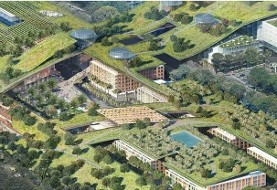 Development of World's Largest Green Roof: Vallco Revitalization Open House