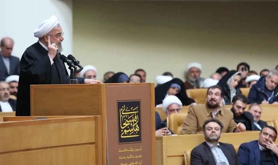 سخنان رئیسجمهور در سالگرد رحلت هاشمی رفسنجانی: جنگ با دنیا هنر نیست، پایان دادن به جنگ هنر است